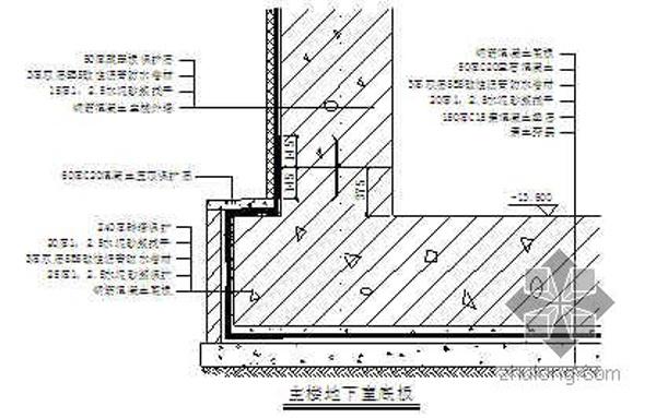 最全的地下室防水施工方案和施工計劃