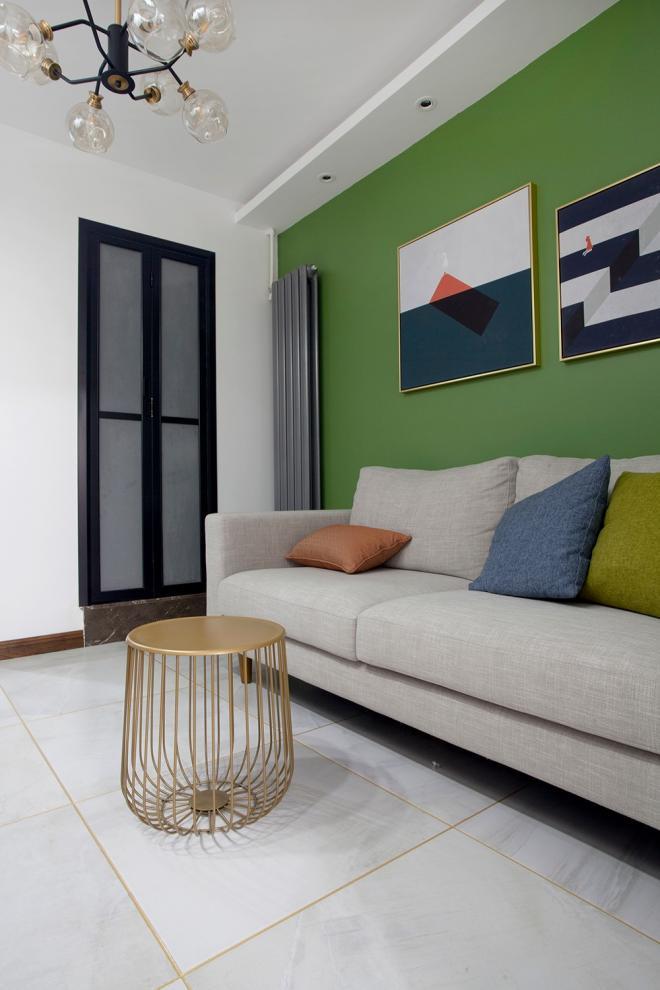 60平小户型两居室简约装修细节图