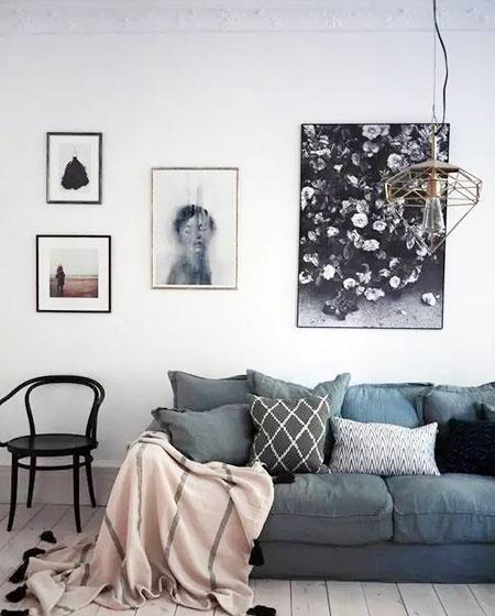 现代简约客厅吊灯图片大全