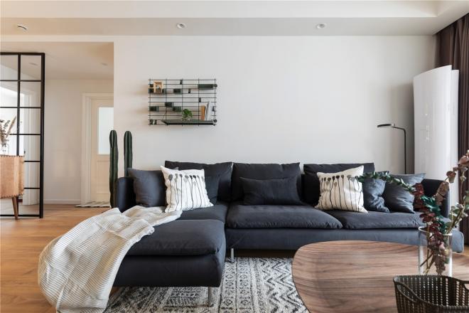 90平米两居室装修效果图