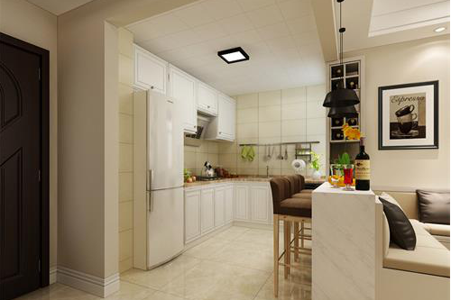现代简约风厨房装修效果图