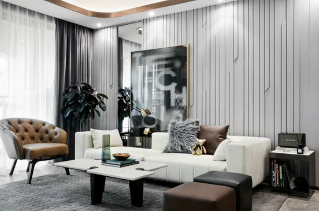 三居室精致北欧风装修效果图