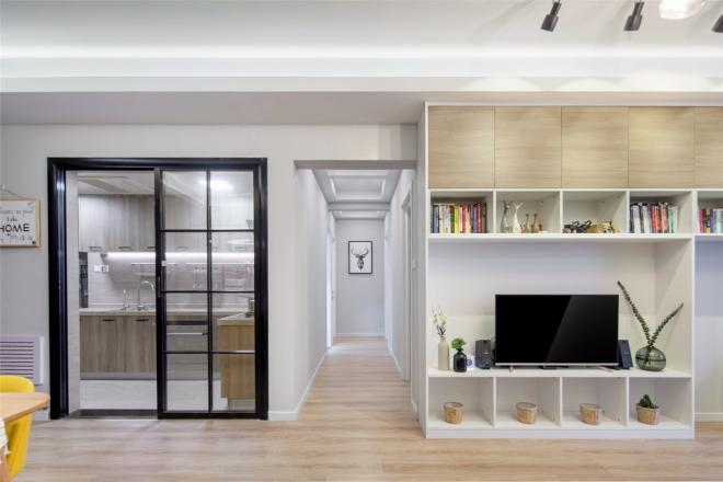三居室北欧风格 宿迁客厅装修效果图