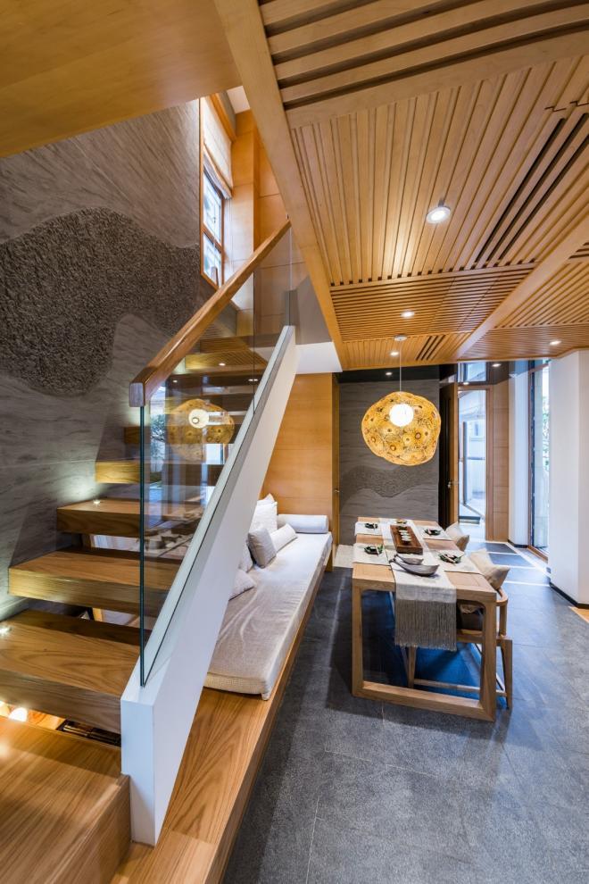 别墅装修楼梯设计效果图