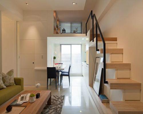跃层小公寓装修效果图