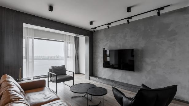 146m²轻工业风 上海客厅装修效果图