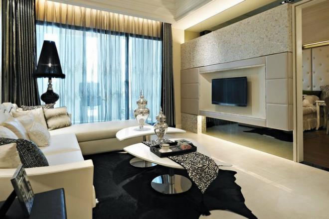 温馨舒适欧式风格 上海装修效果图