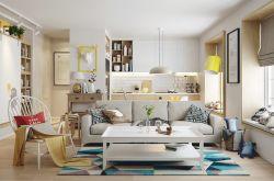 宜家风格年轻公寓装修效果图