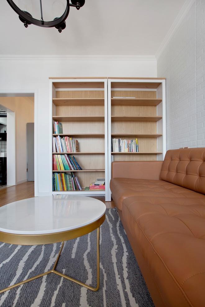 50平小户型简约风 武汉两居室装修效果图