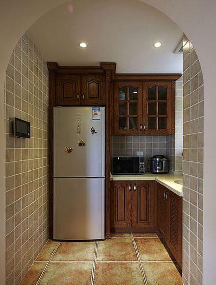 简易厨房小橱柜效果图
