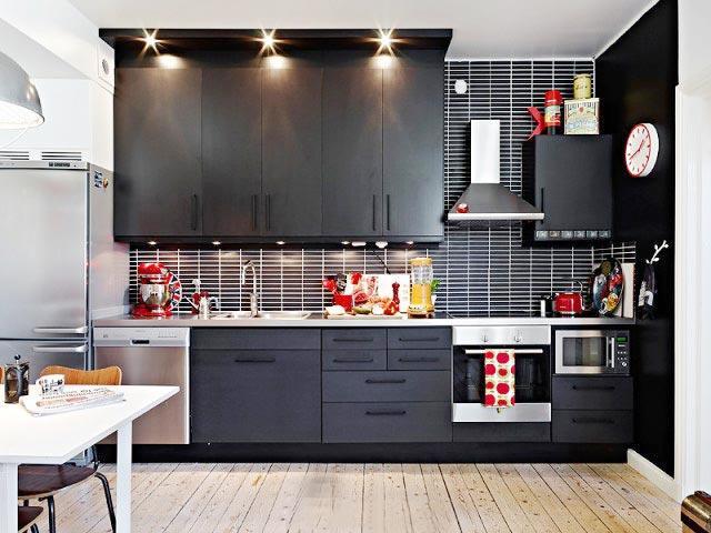 整体厨房小厨房橱柜设计图