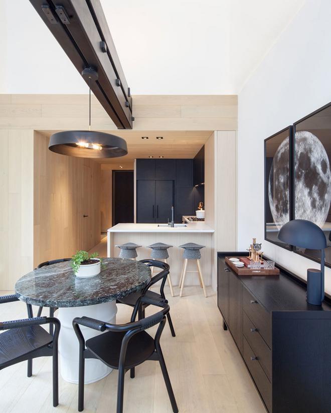 简单明亮现代简约风格 济南公寓装修效果图