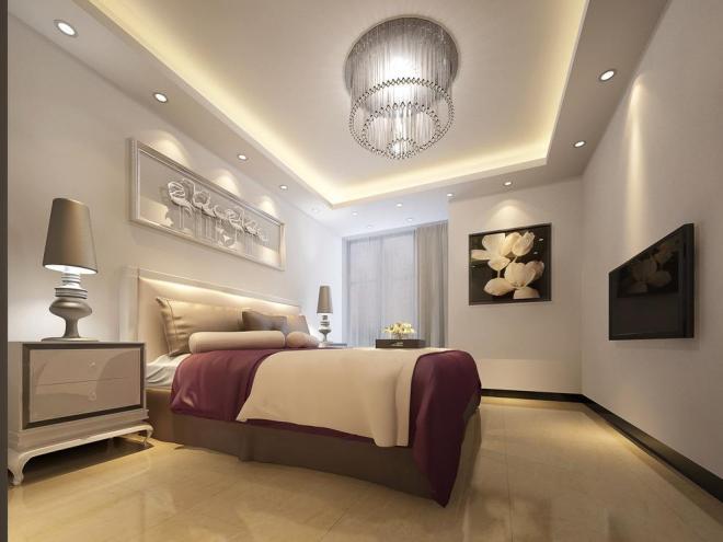 卧室吊顶装饰效果图大全