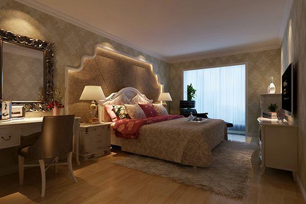家庭卧室吊顶装饰效果图