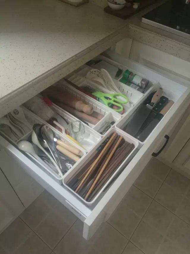 橱柜里面设计效果图 厨房装修收纳推荐