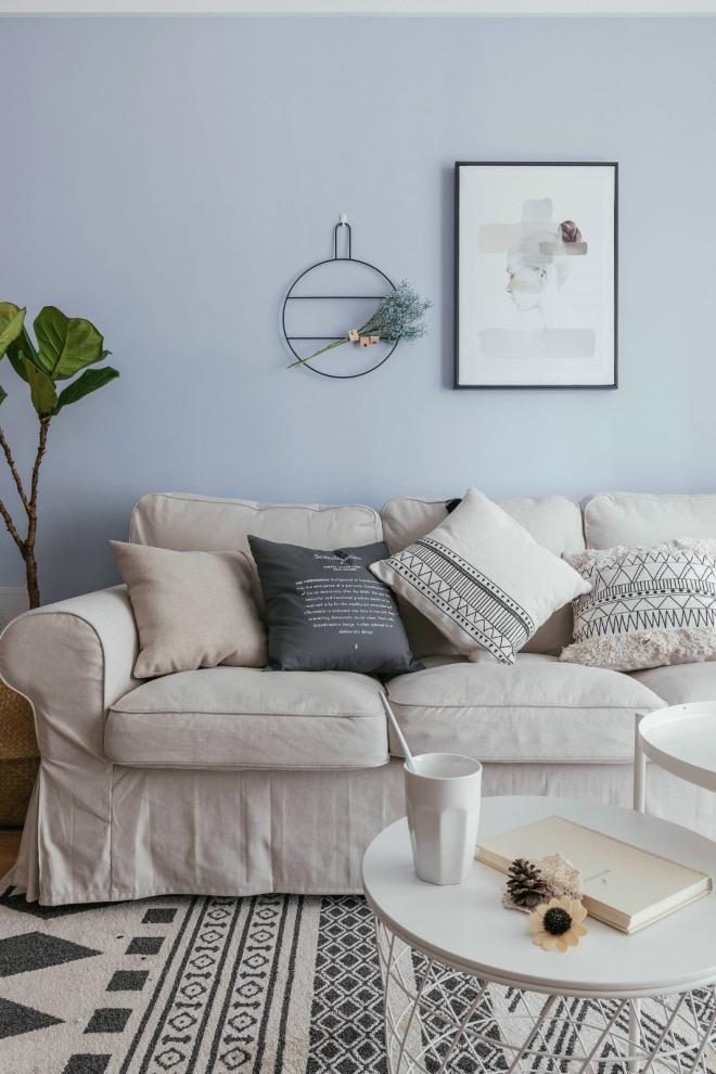 88㎡净透北欧风格 成都家居装修效果图