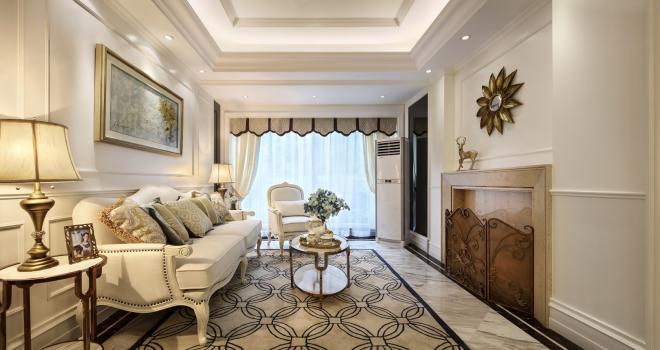 家装简欧风格的效果图