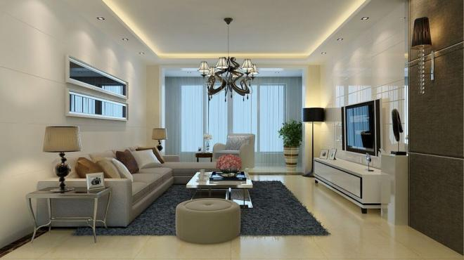 客厅装修欣赏现代简约风格