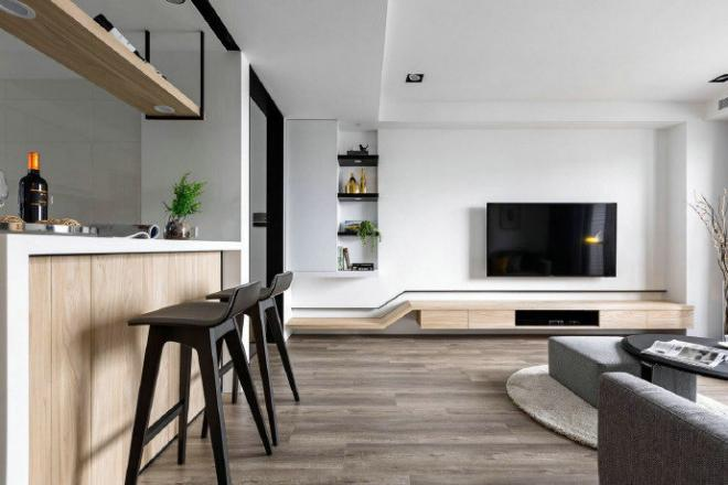 现代简约客厅设计装修效果图