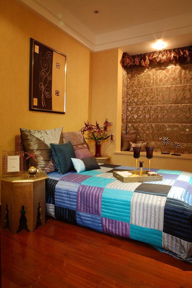 东南亚装修风格小户型卧室