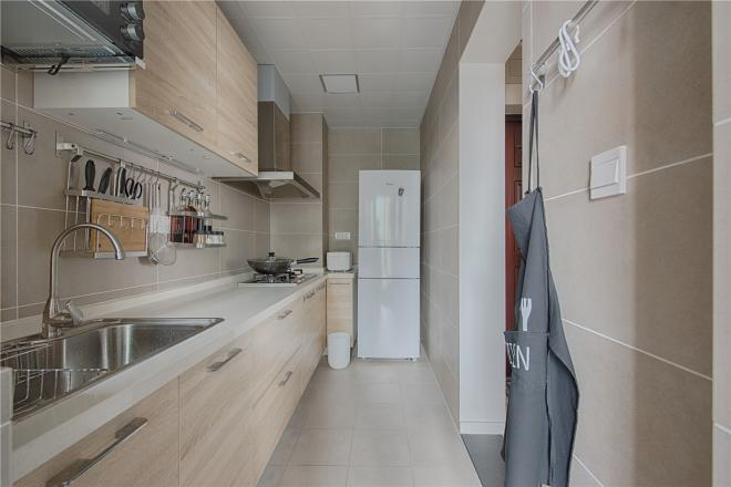 日式装修厨房风格效果图