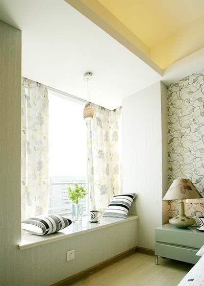 客厅飘窗小户型装修效果图
