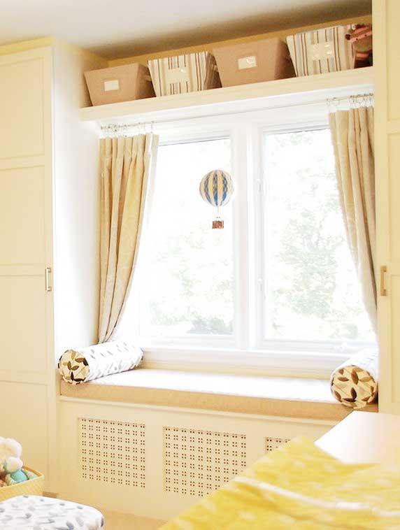 现代客厅飘窗柜子图片设计