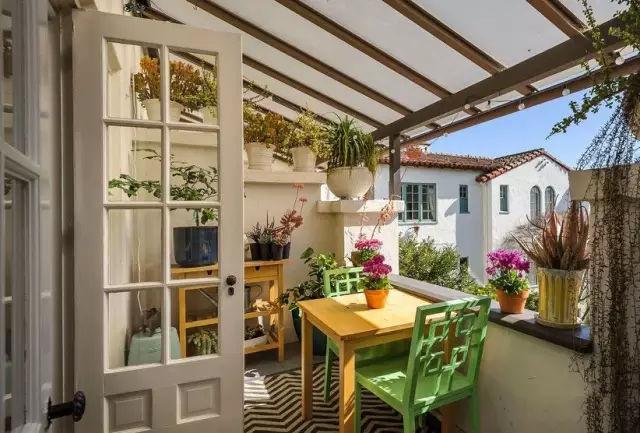 阳台怎么装修才好看 装修客厅阳台图片
