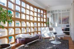 巧妙装饰使小阳台中看又中用 客厅阳台装修设计