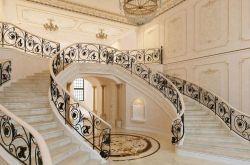 欧式楼梯的装修与搭配 欧式装修效果图片