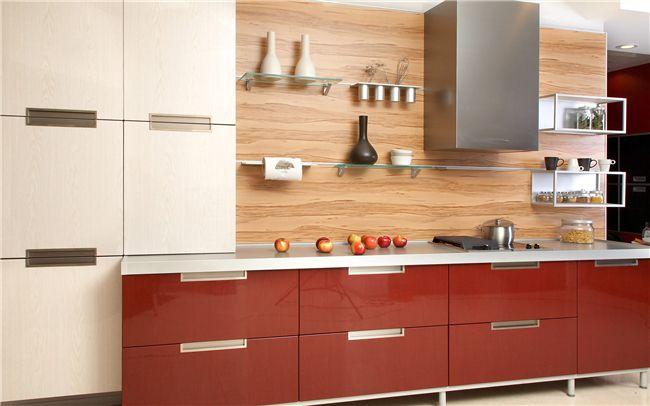橱柜的门板可以选用哪些材料 橱柜装修设计效果图