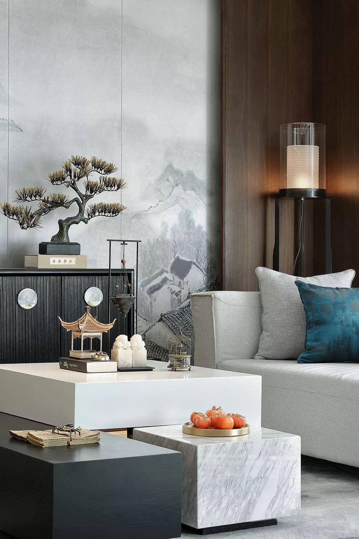 新中式轻奢风装修设计 当下最流行的设计风格