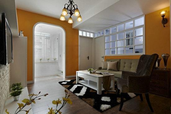 复古细腻欧式风格家居装修效果图