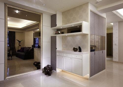 内敛通透新古典风三居室装修效果图
