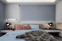 148平现代简约风三居室装修效果图 卧室衣帽间让人羡慕