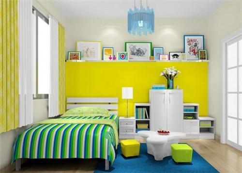 儿童房怎么配色 儿童房搭配什么颜色比较好