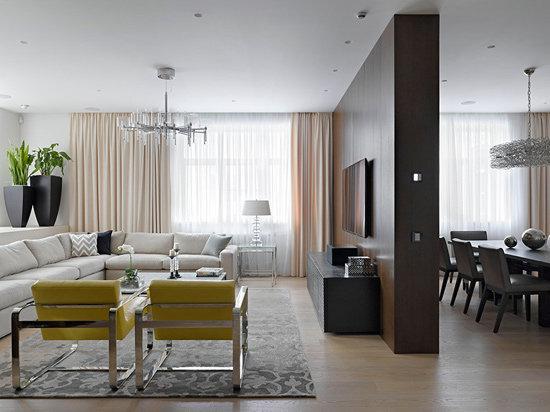 敞亮舒适LOFT风格公寓装修效果图