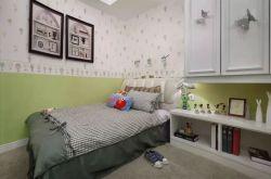 小户型卧室装修效果图 面积太小可以把床这样摆