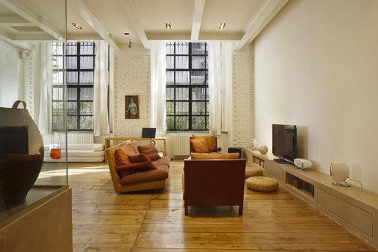 自然闲适现代原木风公寓装修效果图