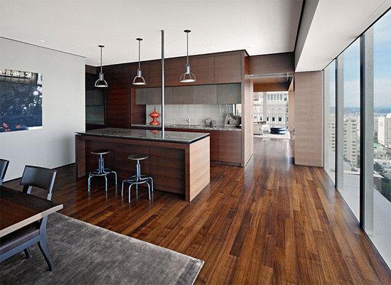 沉稳通透新古典风公寓装修效果图