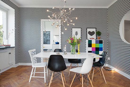 优雅整洁自然现代风公寓装修效果图