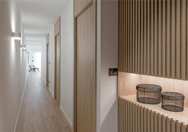 100平两居室客厅简约装修效果图