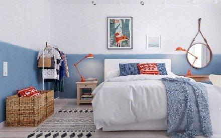 65平小而美的精巧公寓装修效果图