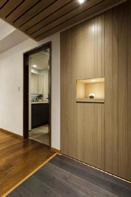 简约日式风住宅设计装修效果图