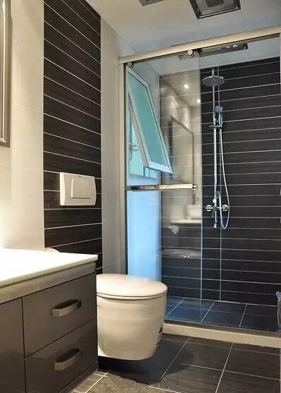 小户型卫浴间干湿分离设计效果图