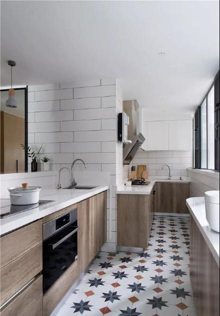 120平舒适北欧风三居室装修效果图