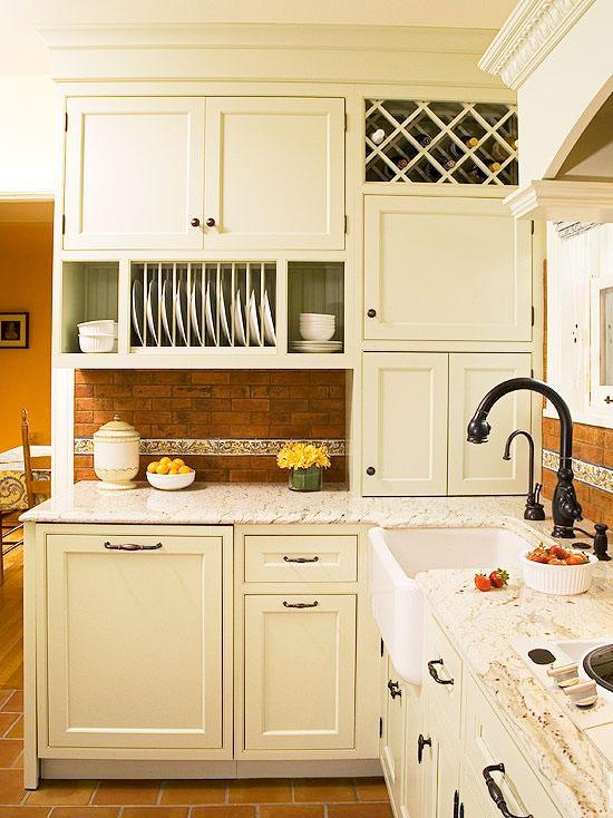 白色厨房橱柜效果图欣赏