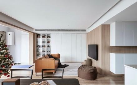 120平北欧风别样温馨的居家氛围家居装修效果图