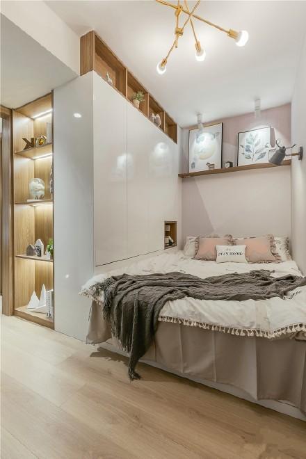 39㎡的小复式北欧风格两居室装修效果图