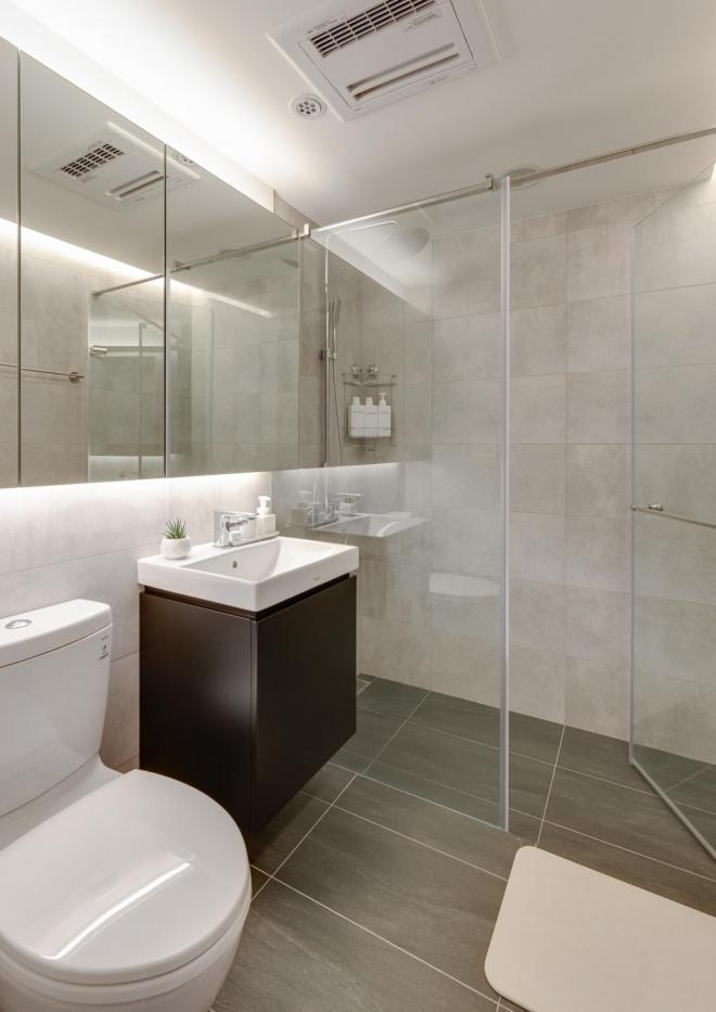 两室两厅酝酿无印生活纯色美家装修效果图